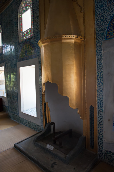 Baghdad Pavilion Fireplace