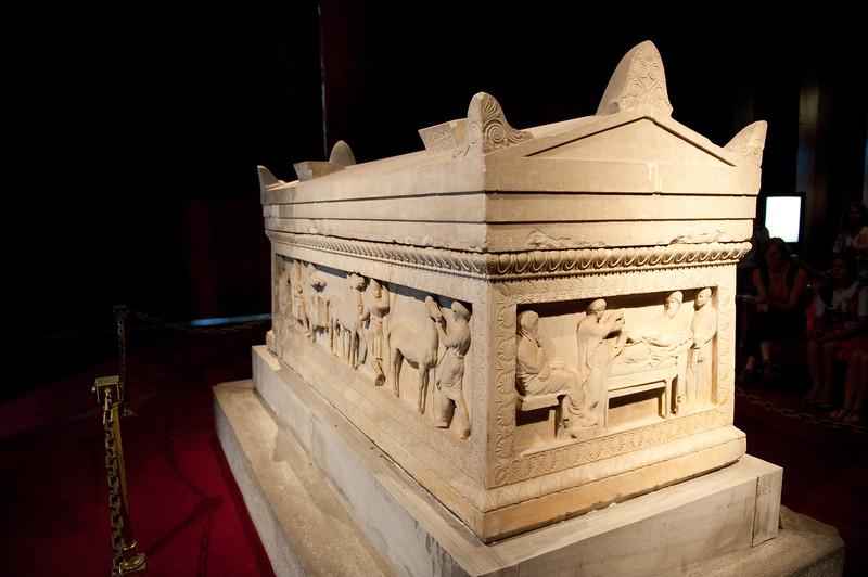Satrap Sarcophagus circa ~5th Century BCE