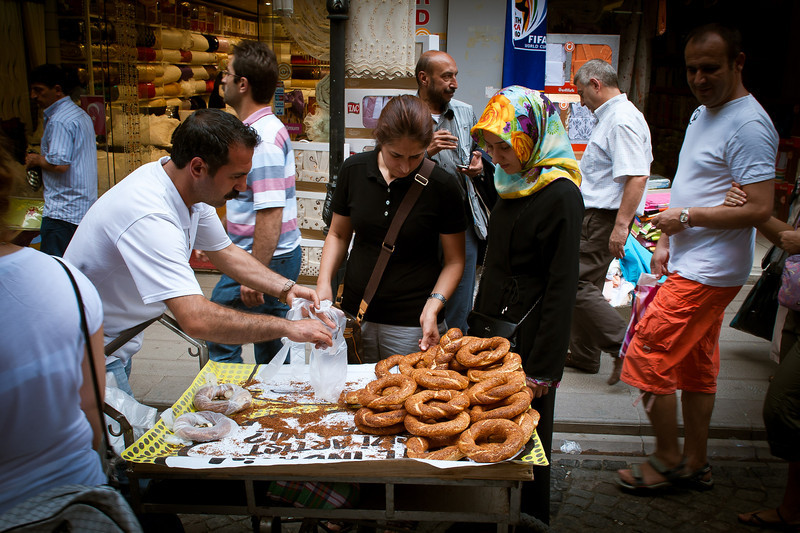 Have a Tasty Simit - Similar to a Bagel