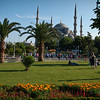Gardens Near Blue Mosque