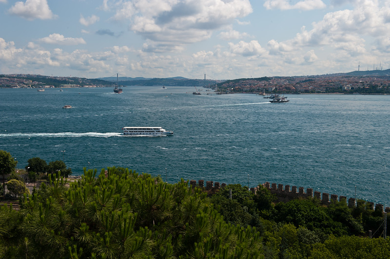Fouth Courtyard, Overlooking the Bosphorus Strait