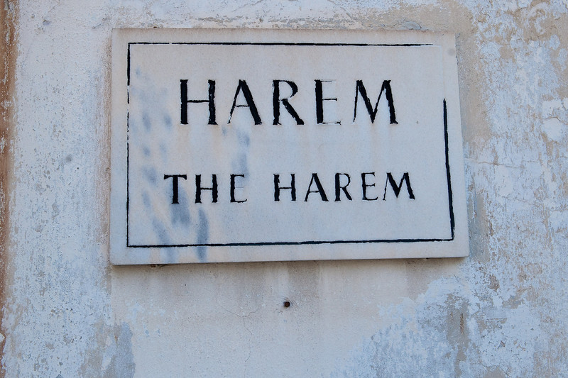 The Harem - Home for Sultan's Wives, Children & Concubines