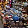 Pottery in the Grand Bazaar