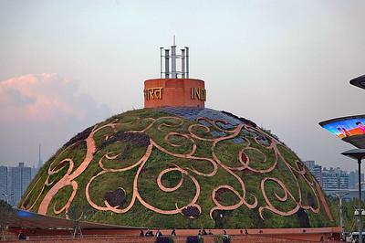 Pavillon de l'Inde Chine, Shanghai, Expo universelle