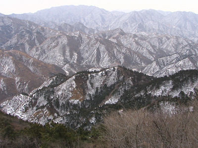 Grande Muraille fin février 2005 019 C6Mouton