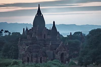 bagan, 1000 pagodes, plaine, birmanie, myanmar