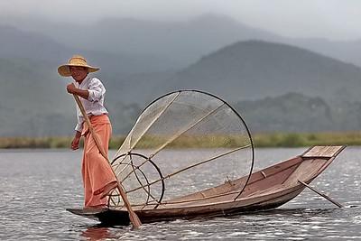 lac Inle, pecheurs, Intha, Myanmar, Burma, Birmanie, Shan