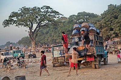 ayeyarwady, mandalay, myanmar, birmanie