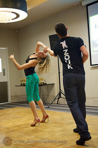 Alisson Sandi & Audrey Isautier  Zouk Workshop - ACT Heats of the Australian Salsa Open 14 June 2014