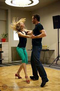 Alisson Sandi & Audrey Isautier  Zouk Workshop - ACT Heats of the Australian Salsa Open 14 June 2014
