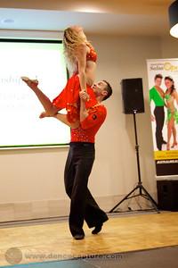 Alisson Sandi & Audrey Isautier  Zouk Performance -  ACT Heats of the Australian Salsa Open 14 June 2014