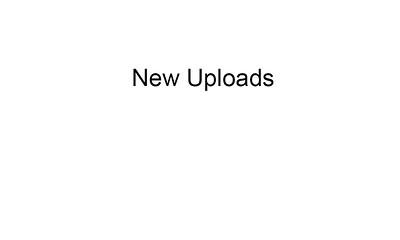 New Uploads Label