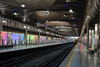 nearly empty Britomart station