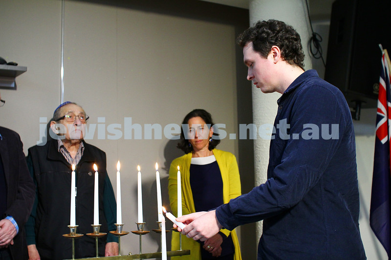 5-7-15.  The Australian Society of Polish Jews and Their Descendants event at Beth Weizmann honouring the Polish Righteous Among the Nations. Matthew (Mateusz) Feodorwicz. Photo: Peter Haskin
