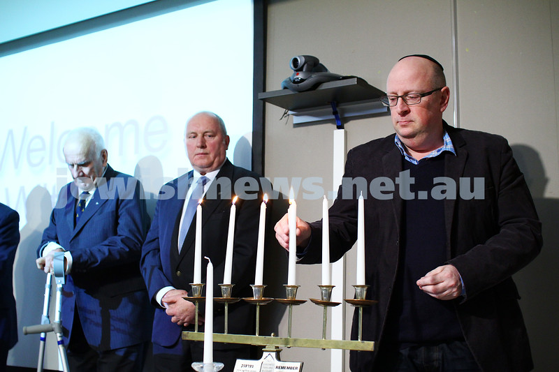 5-7-15.  The Australian Society of Polish Jews and Their Descendants event at Beth Weizmann honouring the Polish Righteous Among the Nations. David Marlow. Photo: Peter Haskin