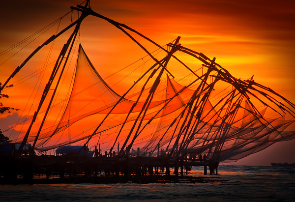 Chinese Fishing Nets