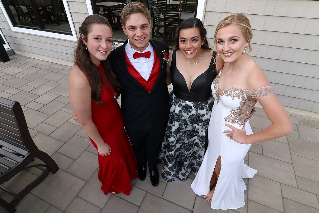 . Ayer Shirley Regional High School Prom was held a the Colonial Hotel in Gardner on Friday night, May 18, 2018. SENTINEL & ENTERPRISE/JOHN LOVE