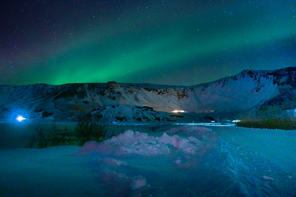 Early Aurora - Iceland