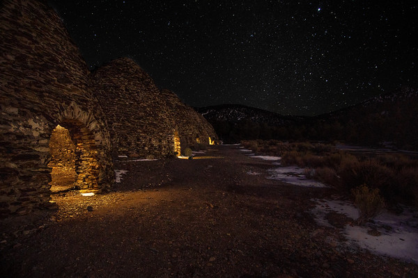 CHARCOAL KILNS OF DEATH VALLEY NATIONAL PARK