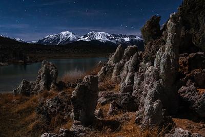 Starry Skies of Mono Lake