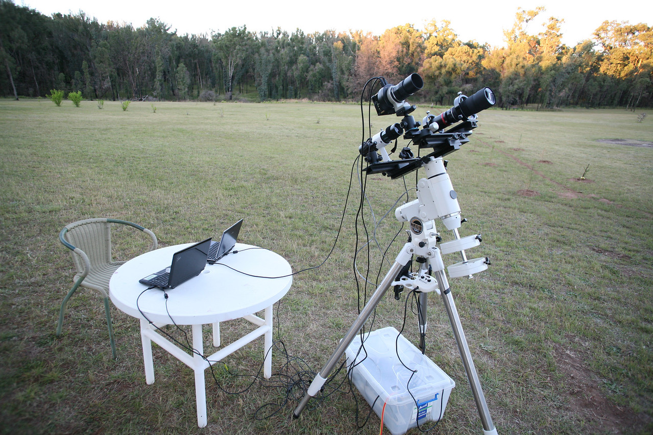 Wide Field Photography Setup