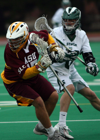 ASU Lacrosse vs Michigan State 4-3-11