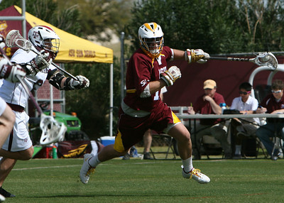 ASU Lacrosse vs Texas A&M 3-6-11
