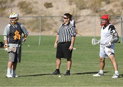 ASU Lacrosse Alumni Game 2011