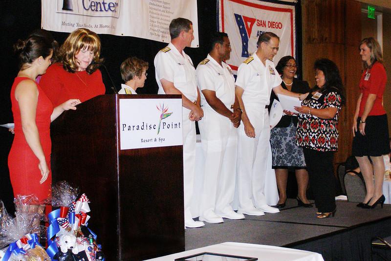 San Diego Armed Services YMCA Ombudsman Key Volunteer Luncheon