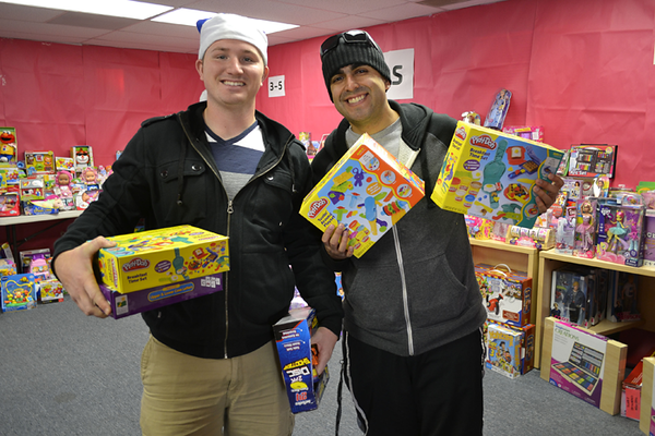 SuperParent Holiday Toy Program 2013 Day 2