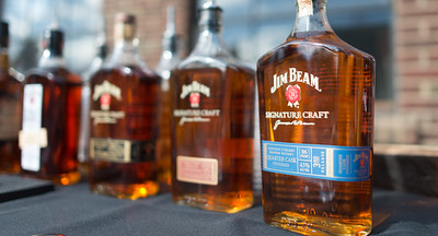 A little BBQ, a little Whiskey, and a nice Summer's afternoon with Beam Suntory!