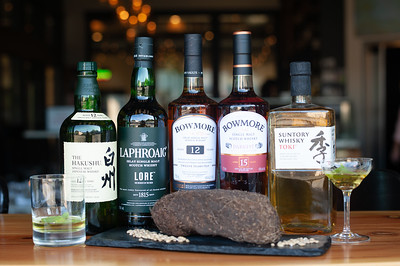 Whisky Dinner at Chelsea Farms Oyster Bar in Olympia features selected Scotch and Japanese Whisky from Beam Suntory
