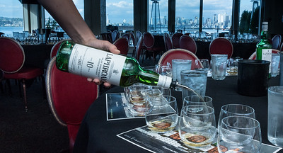 Seattle Friends of Laphroaig Dinner with John Campbell