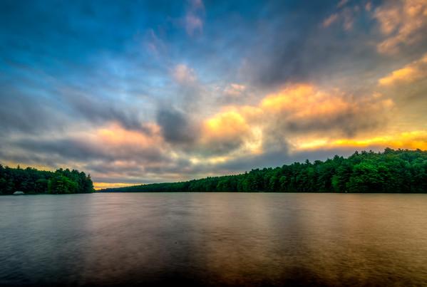 Sunrise Paints the Sky