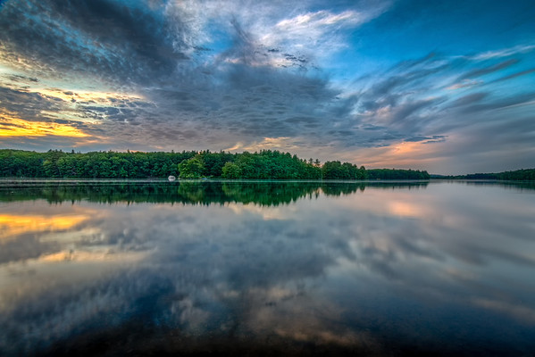 Ashland State Park - Sunset Reflections