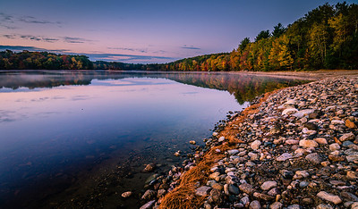 Autumn Dawn at Hopkinton State Park - Tom Sloan