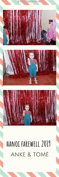ANKE & TOMÉ Farewell Party @ Cousins Restaurant Ha Noi - photostrips instant print photobooth in Ha Noi - in ảnh lấy ngay tại Hà Nội