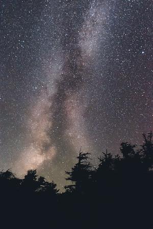 Milky Way over North Kinsman