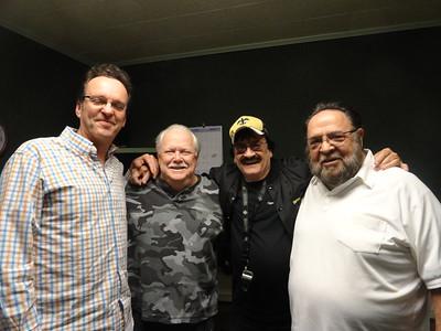 Todd Ortego, Paul Marx, Warren Storm  &  Willie Tee  01 19 14