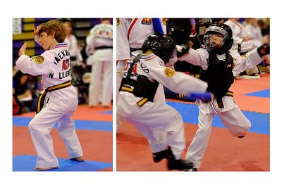 Noah Showing His Martial Arts Skills