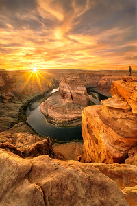 Horseshoe Bend Last Light