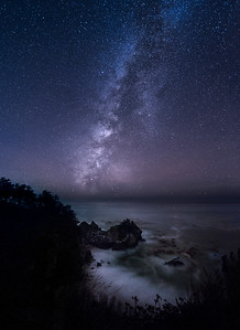 Milky Way at McWay Falls