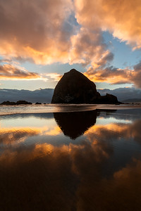 Canon Beach Reflections