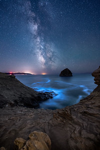 Bioluminescent Waters in Pacific City, OR