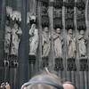De dom van Keulen. Een meesterwerk in de 18e eeuw afgebouwd.