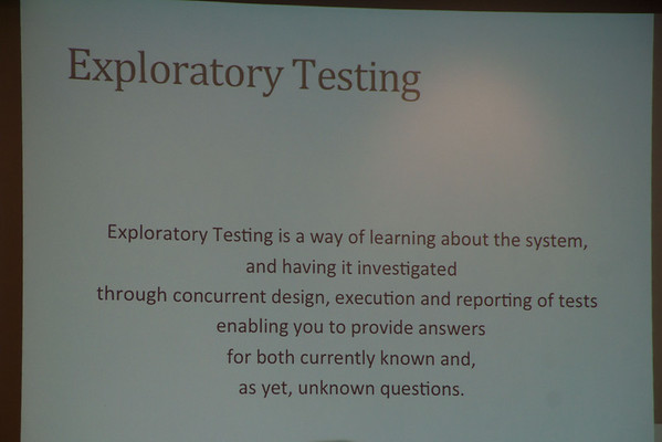 13 - Exploratory Testing