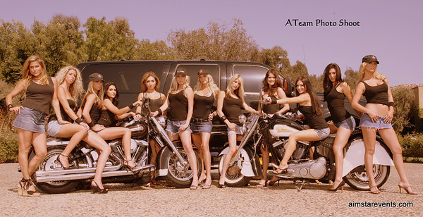 ATeam Poster & Photo Shoot