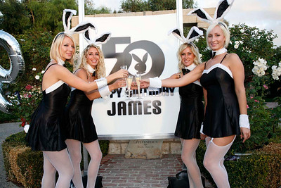 ATeam Party Hostesses - James Dean's 50th Bday Bash