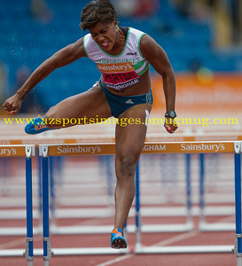 TIFFANY PORTER in the 100h Heats