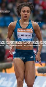 IAAF DIAMOND LEAGUE-Birmingham Women  100m Heat 1 Jodie Williams (GB)